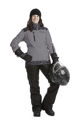Divas SnowGear Lace Collection Jacket - Light Grey - Small