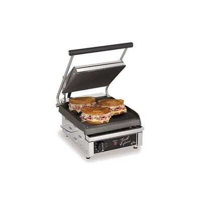 Star Manufacturing GX10IG Grill Express Two-Sided Grill, 10 in. Grooved Grill