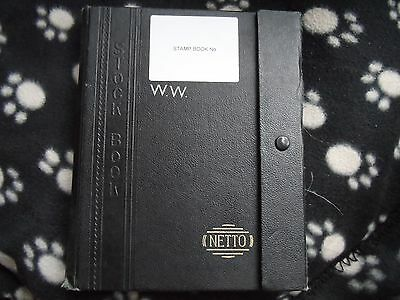 GB stamps and stock book