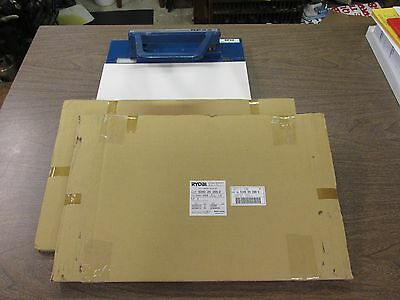 RP22 PLATE PUNCH (used) + 4 NEW BLANKETS RYOBI 3302  Part 5340 24 266-2