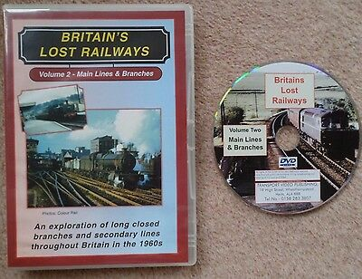 Britain's Lost Railways 2: Main Lines & Branches  DVD Transport Video Publishing