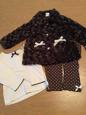 BNWT Girls Complete 3 Piece Outfit By CUTIE PIE (2 Years) **FREE UK P&P**