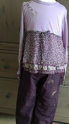 BNWT Girls 2 Piece Outfit By Designer By Pomme Framboise (6 Yrs) *FREE UK P&P*
