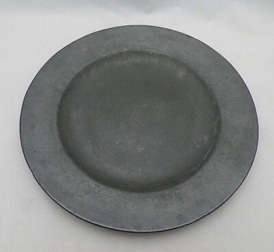 "George III Antique Pewter Plate 9 1/2"" John Jones London Good Touch Marks"