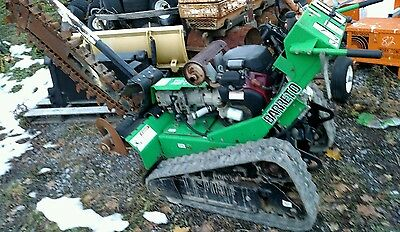 BARRETO 2024 TK WALK BEHIND Tracked TRENCHER Ditch Witch Honda 20 HP