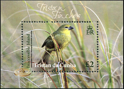 Tristan DaCunha. 2014. Tristan's Endemic Finches (MNH OG) S/S