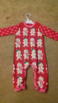 Brand New - Girls Outfit - Chrsitmas Theme - Gingerbread - 6-9 Months