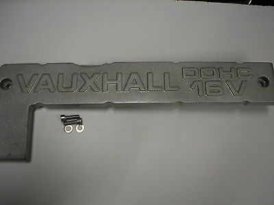 Vauxhall Opel Metal Spark Plug Cover 2.0 16V Redtop C20XE C20LET
