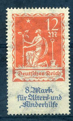Germany 1922 12m+8m charity stamp mint