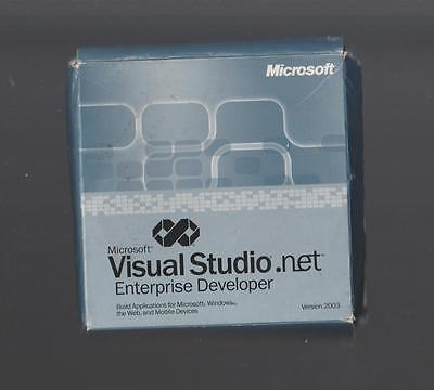 Microsoft Visual Studio .NET Enterprise Developer 2003 - 7 CDs Boxed