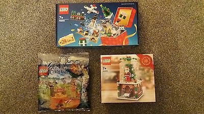 Lego Limited Edition Christmas Snowglobe, 24-in-1 Christmas set + Elves pack.