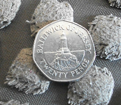 BAILIWICK OF JERSEY 20p COIN 2007