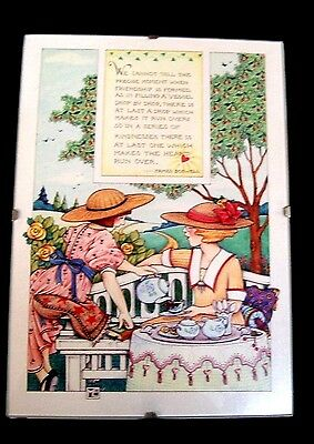Wall Picture Mary Engelbreit Tea Party Friends 5 X 7 Inch