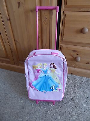 Disney Princesses Small Child's Suitcase With Wheels