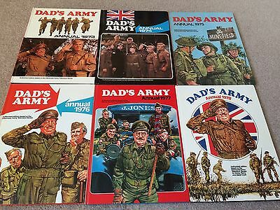 Dads Army Annuals All 6 from the 1970's