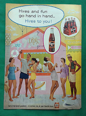 1956-1959 Lot Magazine Ads ~ Hires Root Beer