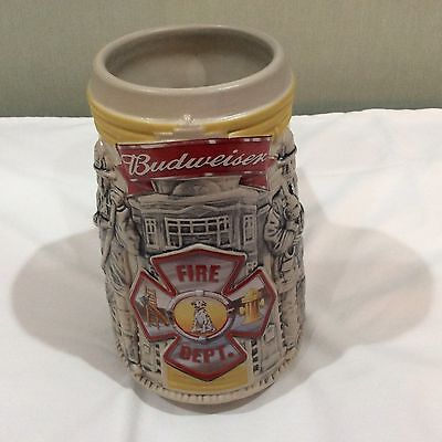Anheuser-Busch Budweiser Honoring Tradition & Courage Firefighters Stein