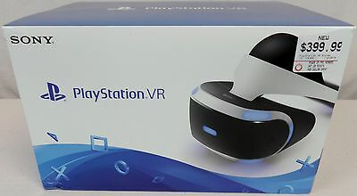 """NEW Sony PlayStation VR PSVR Virtual Reality Core Headset 5.7"""" OLED RARE in Hand"""