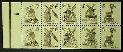 US Booklet Pane Scott # 1742a, MNH.