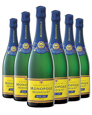 Heidsieck & Co Monopole Blue Top Brut NV 6 PACK