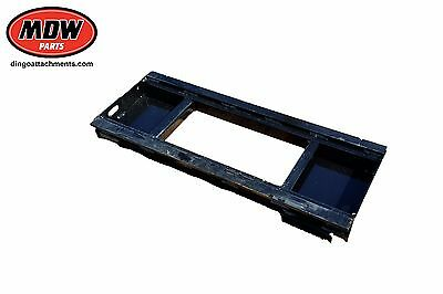 Skid Steer Multi Fit Attachment Plate - Standard Euro Hitch