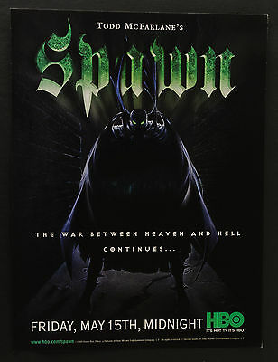 1998 Print Ad Spawn on HBO
