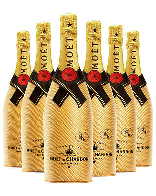 Moët & Chandon Brut Impérial Gold Diamond Suit 6 PACK