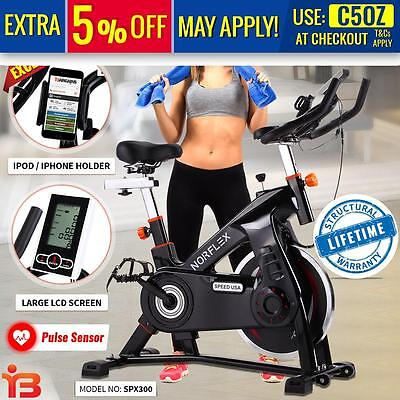 Norflex Spin Bike Flywheel Fitness Commercial Exercise Indoor Home Workout Gym D