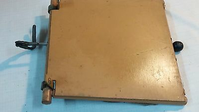Vintage Thayer Wicker Baby Buggy / Carriage Part W/ Lever/Adjuster