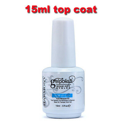 Nuevo 15ML Gelpolish UV LED Manicure Top Coat Gel Esmalte de uñas
