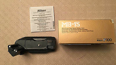 Nikon MB-15 High Speed Battery Pack (for F100)