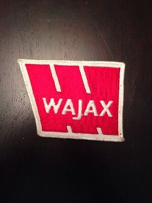 "Wajax  4"" Patch Sew On Construction Montreal Natural Resources Industrial Power"