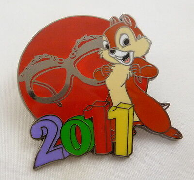 Disney 2011 Mystery Collection Chip Pin