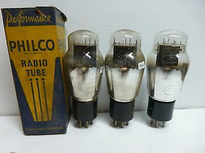 Philco and Tung-Sol type 46 tubes - tested - T#9
