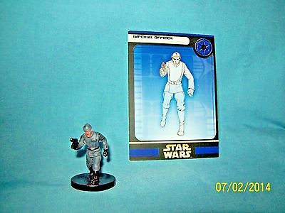 WotC Star Wars Miniatures Imperial Officer, Rebel Storm 29/60, Empire, Uncommon