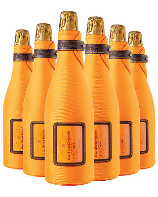 Veuve Clicquot Yellow Label Brut NV Ice Jacket Champagne 6 PACK
