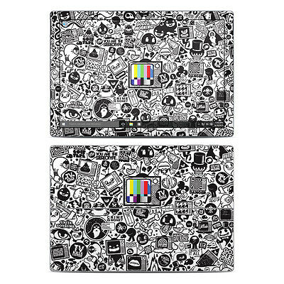 NEW Vinyl Skin for Surface Pro 3, 4, Book TV Kills Sticker Bomb Decal Cover
