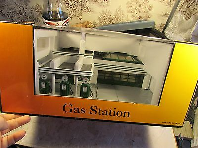 Mth  30-9101 Operating Sinclair Gas Station