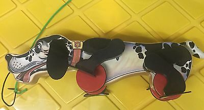 Fisher Price Dalmation -Snoop N' Sniff Dog Pull Toy Reproduction (2009?)