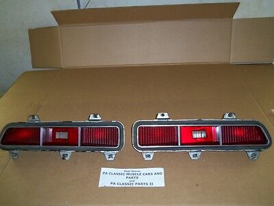 Survivor Tail Lamp Lights 69 Camaro Z/28 Ss 350 396 Gm Chevy Style Trim Group