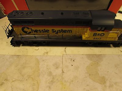 Lionel 8463 Chessie Systems, needs repair with wrong box