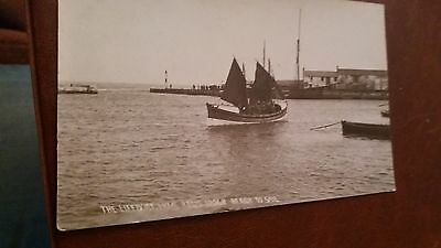 "LOT.11. "" LYME REGIS, LIFE BOAT. No. 12048. READY TO SAIL "".UNPOSTED"