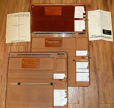 Vintage Rare Boonshaft & Fuchs Direct Reading Frequency Response Sliderule