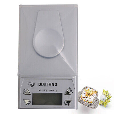 Mini Portable 50g * 0.001g LCD Digital Jewelry Scale Pocket Gram Weight Balance