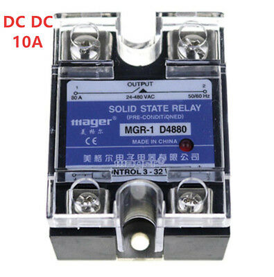 Mager SSR 10A DC-DC Solid state relay Quality Goods MGR-1 DD220D10