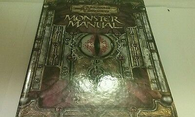 Dungeons & Dragons Monster Manual 1st Printing July 2003