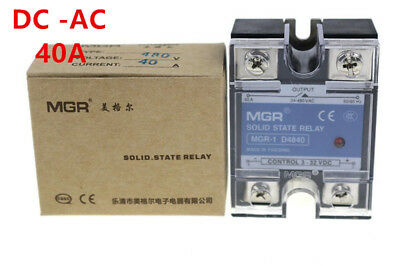 Mager SSR 40A DC-AC Solid state relay Quality Goods MGR-1 D4840