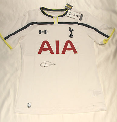 Tottenham Hotspur Football Club Shirt Autographed By Harry Kane with COA