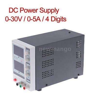 0-30V 0-5A 4 Digits Variable Digital Regulated DC Power Supply EM1703 new Y3P1