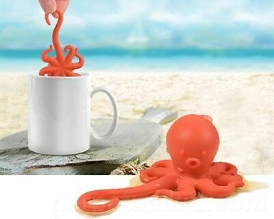 NEW - NOVELTY OCTEAPUS OCTOPUS SHAPED TEA INFUSER by FRED
